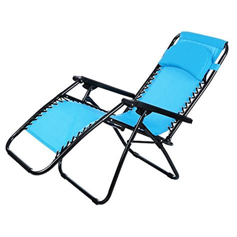 ancheer zero gravity lounge chair for the garden blue