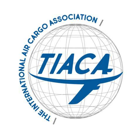 tiaca unveils  website  logo air cargo week