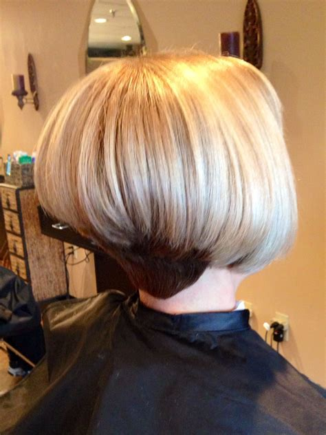 inverted bob vs a line bob pinterest