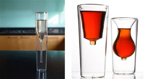 Unique Bar Glasses Insideout Glass Collection By Alissiamt Glassware Wine