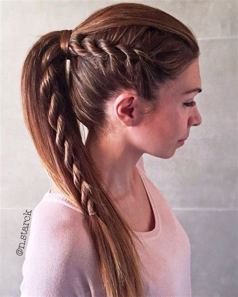 hairstyles for straight hair with braids 10 popular straight back braids hairstyles style samba