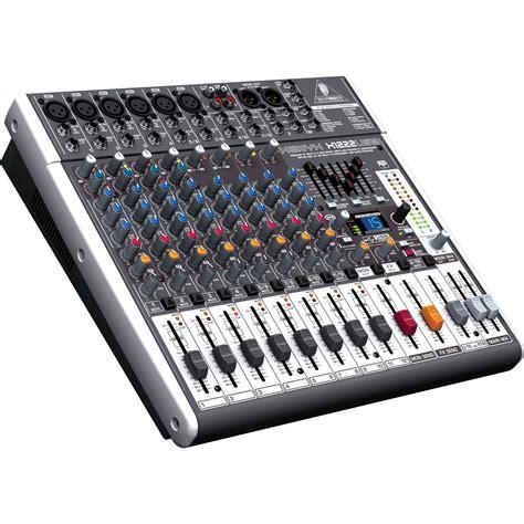Mixer Behringer X1222usb behringer xenyx x1222usb 16 input usb audio mixer