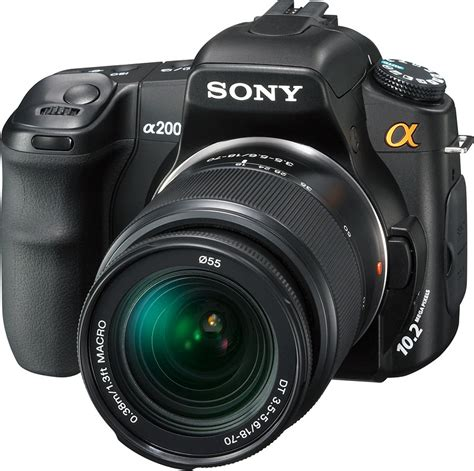 Kamera Sony Dslr A200 sony dslr a200 review