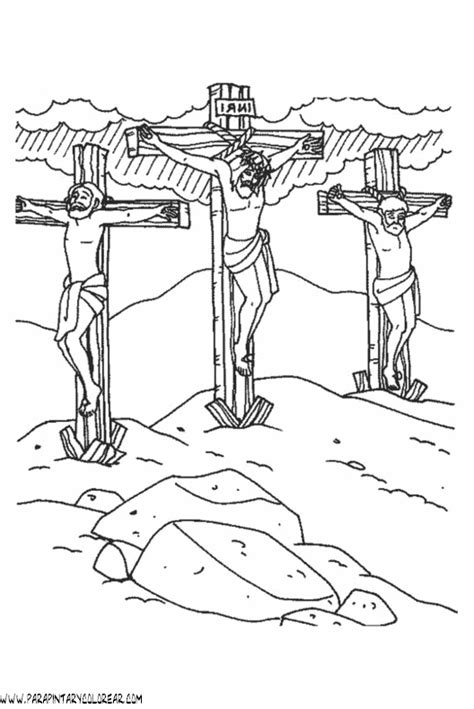 imagenes de jesucristo a color free coloring pages of imagenes de cruz