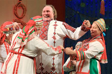 gerard depardieu is russian what happens when a famous french actor goes russian ask