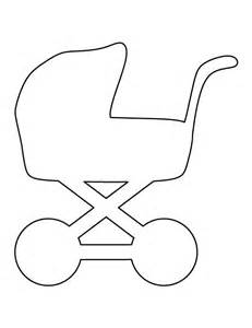 Baby Templates by Baby Carriage Pattern Use The Printable Outline For
