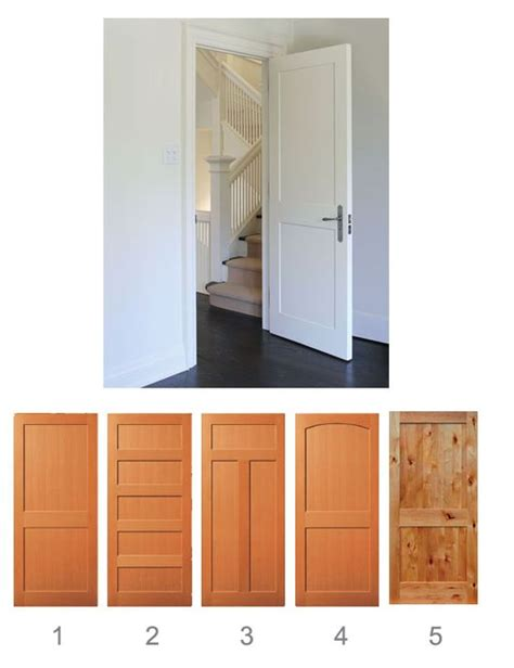 interior door styles for homes craftsman interior shaker style interior doors