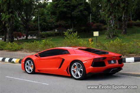 Lamborghini Aventador Price In Malaysia Lamborghini Aventador Spotted In Sepang Malaysia On 04 08
