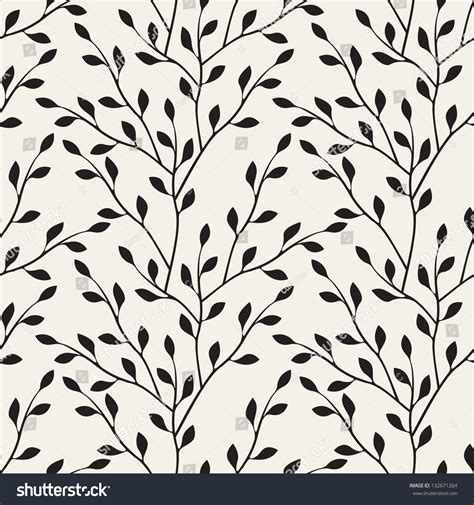 pattern silhouette vector vector seamless pattern floral stylish background