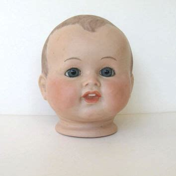 reproduction bisque doll heads vintage antique reproduction large bisque from