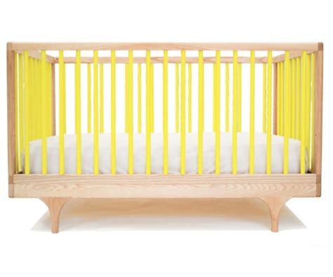 Baby Koo Caravan Crib Solid Wood Made In Usa Yellow Baby Crib