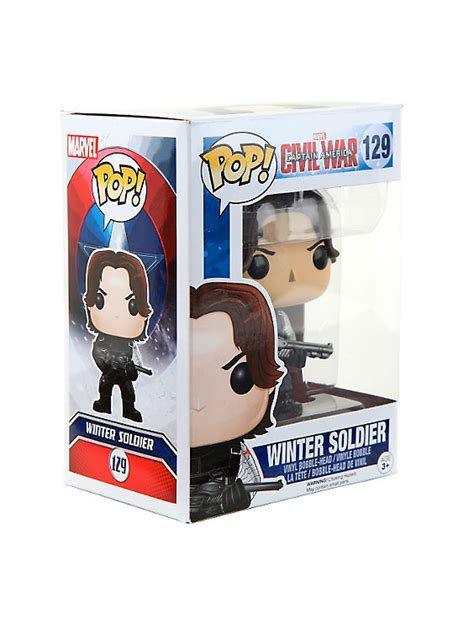 Funko Pop Tees Captain America Marvel Captain America 3 Civil War funko marvel captain america civil war pop winter soldier vinyl bobble topic