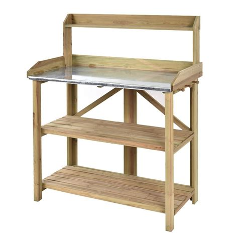wood potting benches wooden potting bench decor ideasdecor ideas