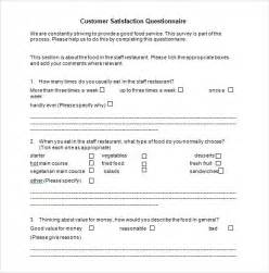 Customer Survey Questions Templates by Customer Satisfaction Survey 7 Free Documents