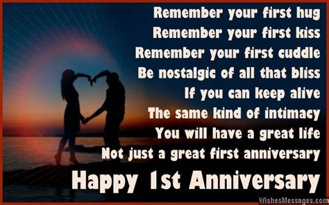 1st month wedding anniversary quotes for 1st anniversary poems for couples happy wedding anniversary 63918 quotesnew