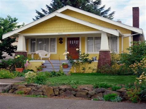 small bungalow homes small house plans craftsman bungalow yellow craftsman