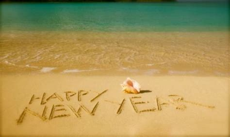 happy new year images with beach 2017 2018 for everyone