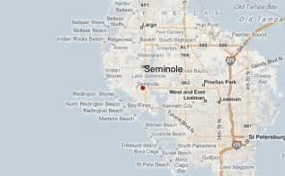 seminole map seminole location guide