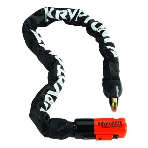 cadenas para ruedas de bicicletas cadena con candado para bicicletas kryptonite evolution