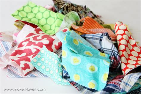 how to make fabric from scraps fabric scraps trash or treasure make it and it