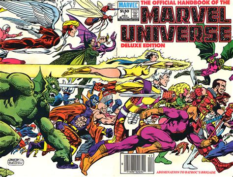 Marvel Universe The Encyclopedias Who S Who And The Official