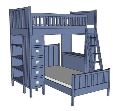 bedroom furniture building plans top 70 ideas about bunk bed plans on pinterest