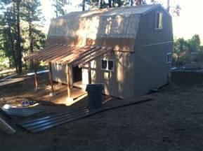 16 X 24 Cabin With Loft by 16x24 Cabin Loft Gambrel Studio Design Gallery
