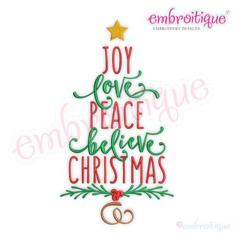 christmas word tree merry christmas and happy new year 2018