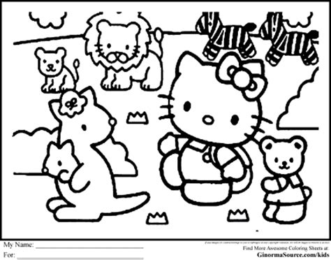 hello kitty zoo coloring pages coloring pages hello kitty coloring pages hello kitty