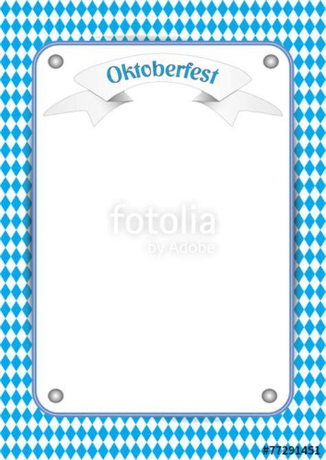 Muster Einladung Zum Oktoberfest Quot Oktoberfest Einladung Muster Quot Stockfotos Und Lizenzfreie Vektoren Auf Fotolia Bild 77291451