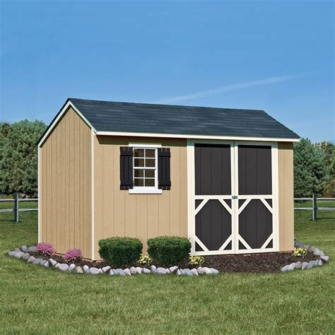 heartland stratford saltbox engineered wood storage shed