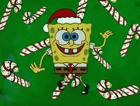 merry christmas gif spongebob christmas discover