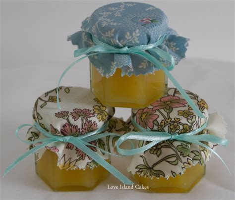 Handmade Cyprus - mini jars of handmade cyprus lemon curd or orange curd