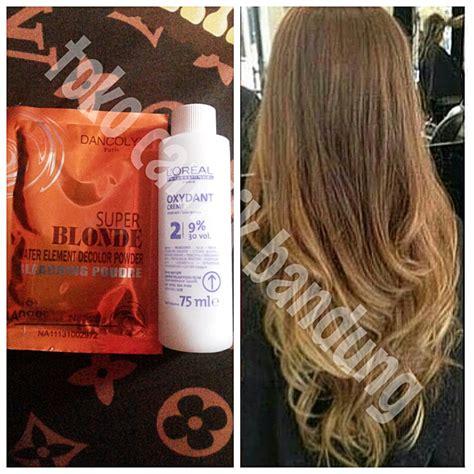 Jual Rambut Sambungan Bandung jual bleaching rambut bleaching hair toko cantik bandung