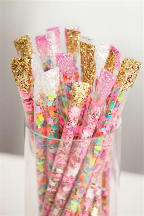 Better Homes And Gardens Christmas Crafts - how to make diy confetti sticks best friends for frosting