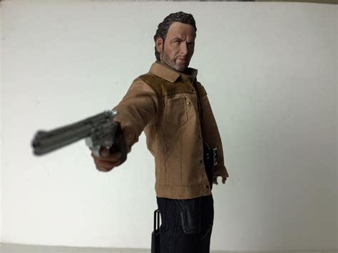 6 figure scale custom 1 6 scale the walking dead rick grimes figure