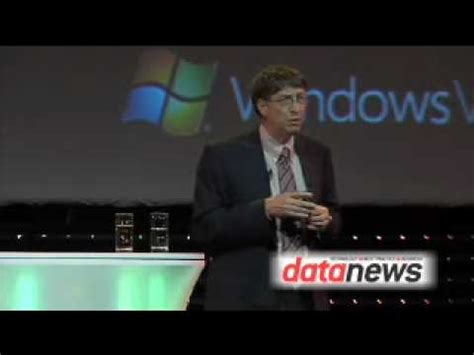 Windows Vista Launch Bill Gates Speech 3 The One Where They Talk About Libraries And We See The Feeling by Windows Vista Fails Doovi