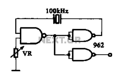 integrated circuit oscillator circuit sensors detectors circuits next gr