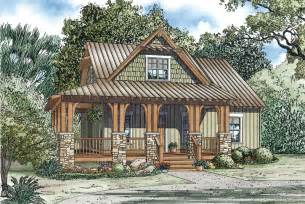 Small Cottage Plans by Silvercrest Craftsman Cabin Home Plan 055d 0891 House