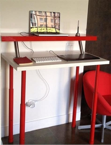 diy sit stand desk plans never listless first floor plans part 6 scott s office