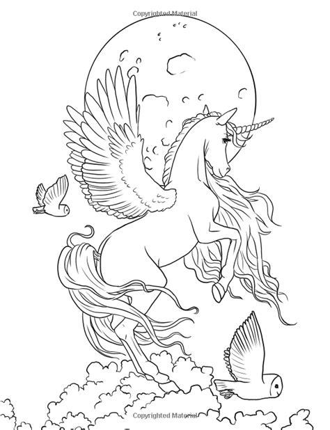 mystical unicorn coloring page fairy art coloring book by selina fenech unicorn fantasy