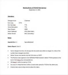 meeting notes template word meeting notes template 28 free word pdf documents