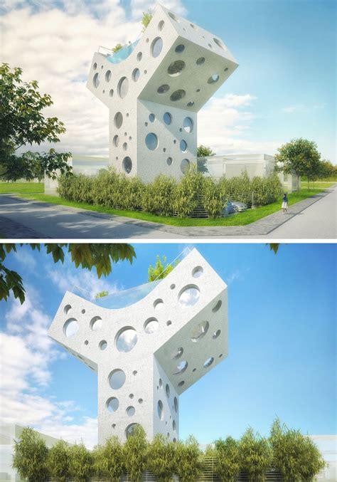 home fantasy design inc this y shaped house concept is a fun futuristic fantasy