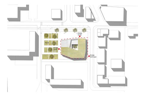 cultural center floor plan gallery of cultural center in nevers ateliers o s