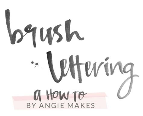 brush lettering tutorial photoshop how to make modern brush lettering brush lettering