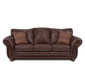sofas leather sleeper sofas pattern cushions brown sofa