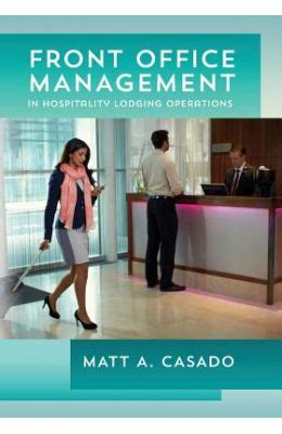 buy front office management in hospitality lodging operations book matt a casado - Century Hospitality Gift Card Balance