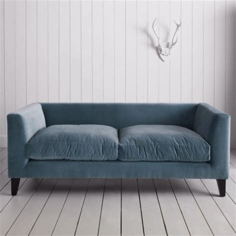 graham and green sofa snooze velvet sofa cornflower blue contemporary sofas