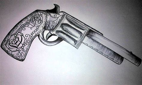 pistol tattoo by thatgirlalfiee on deviantart