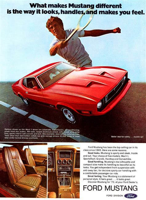 pony car madness  classic mustang ads  daily drive consumer guide  daily drive